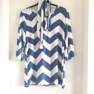 ⬇️Chevron Pattern Summer Dress
